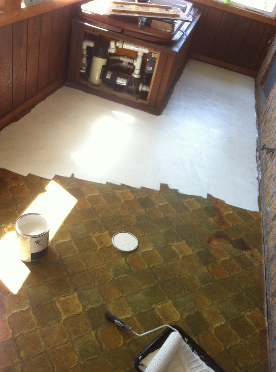 My 50 Floor The Bachelorette Pad Flip